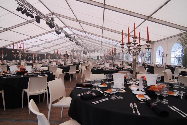 Tent decoratie tentenverhuur en zeilmakerij tentenbedrijf gbs